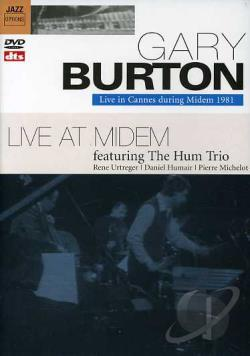 Gary Burton Featuring the Hum Trio - Live in Cannes During Midem 1981 DVD Cover Art