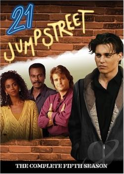 21 Jump Street - The Complete Fifth Season DVD Cover Art