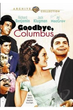 Goodbye, Columbus DVD Cover Art