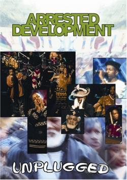 MTV Unplugged - Arrested Development DVD Cover Art