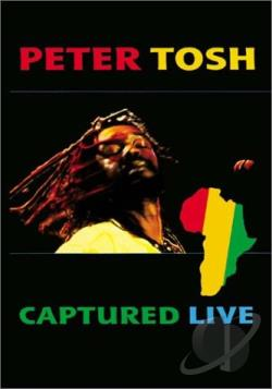 Peter Tosh - Captured Live DVD Cover Art