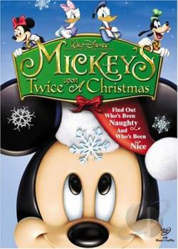 Mickey's Twice Upon A Christmas DVD Cover Art
