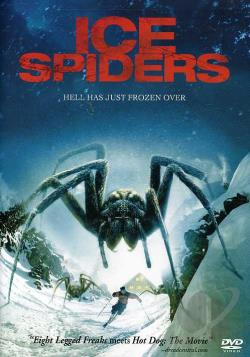 Ice Spiders DVD Cover Art