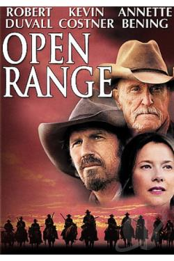 Open Range DVD Cover Art
