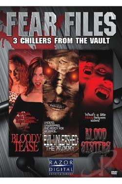 Fear Files 3 Pack DVD Cover Art