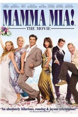 Mamma Mia! DVD Cover Art