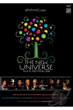 John McLaughlin and the 4th Dimension: The New Universe Music Festival 2010 DVD Cover Art