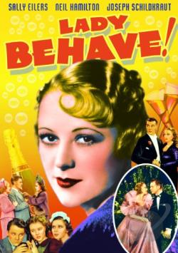 Lady Behave DVD Cover Art