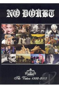 No Doubt - The Videos 1992-2003 DVD Cover Art