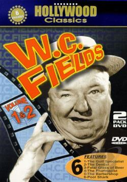 W.C. Fields Twin Pack DVD Cover Art