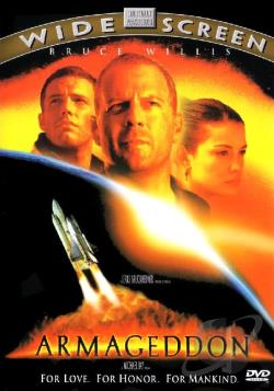 Armageddon DVD Cover Art