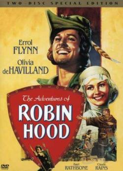 Adventures of Robin Hood DVD Cover Art