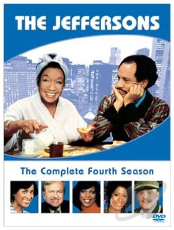 Jeffersons - The Complete Fourth Season DVD Cover Art