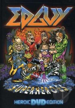 Edguy - Superheroes DVD Cover Art