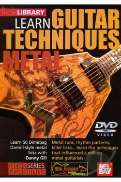 Lick Library: Guitar Techniques - Dimebag Darrell DVD Cover Art