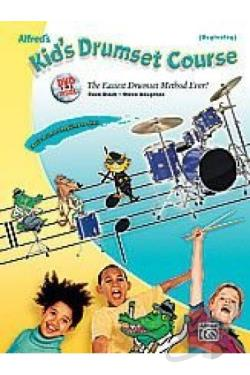 Alfred's Kid's Drumset Course DVD Cover Art