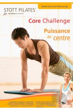 Core Challenge: Pilates Matwork Level 3 DVD Cover Art