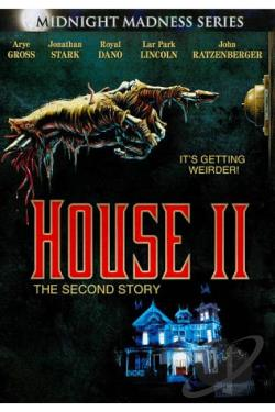 House 2 - The Second Story DVD Cover Art