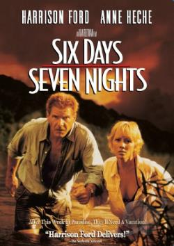 Six Days, Seven Nights DVD Cover Ar
