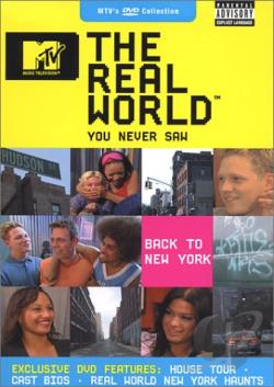 MTV's The Real World You Never Saw - Back To New York DVD Cover Art