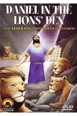 Daniel in the Lion's Den DVD Cover Art