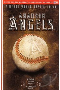 Vintage World Series Films: Anaheim Angels DVD Cover Art