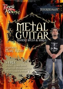 Metal Guitar - Modern, Speed and Shred: Intermediate DVD Cover Art