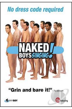 Naked Boys Singing - The Movie DVD Cover Art