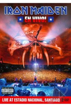 Iron Maiden: En Vivo! - Live at Estadio Nacional, Santiago DVD Cover Art