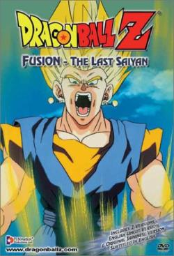 Dragon Ball Z - Fusion: The Last Saiyan DVD Cover Art