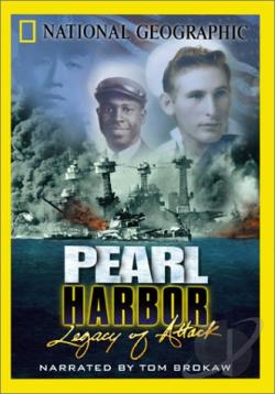 National Geographic - Pearl Harbor: Legacy of Attack DVD Cover Art