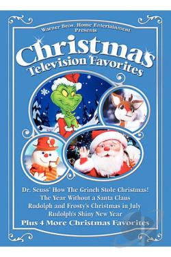 Christmas Television Favorites DVD Cover Art