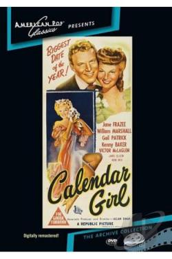 Calendar Girl DVD Cover Art