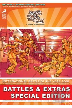 International Battle of the Year 2008 DVD Cover Art