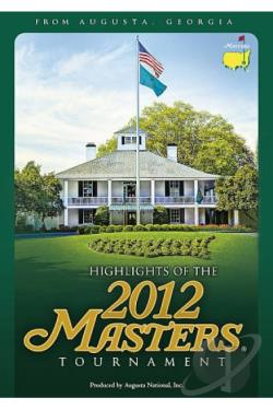 Highlights of the 2012 Masters Tournament DVD Cover Art