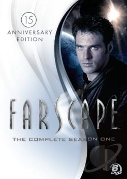 Farscape - The Complete Season One DVD Cover Art