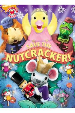 Wonder Pets - Save the Nutcracker DVD Cover Art