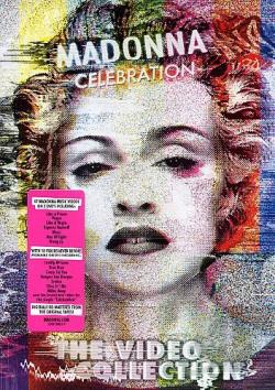 Madonna: Celebration DVD Cover Art