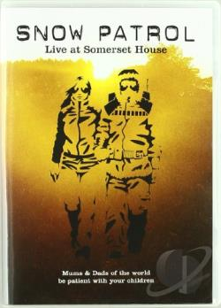 Snow Patrol - Live at Somerset House DVD Cover Art