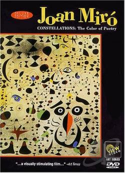 Joan Miro - Constellations: The Color of Poetry DVD Cover Art