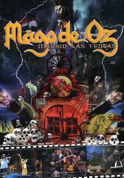 Mago de Oz - Madrid Las Ventas DVD Cover Art