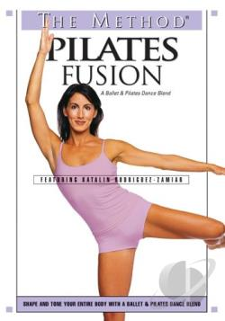 Method - Pilates Fusion A Ballet & Pilates Dance Blend DVD Cover Art