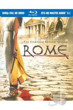 Rome - The Complete Second Season BRAY Cover Art