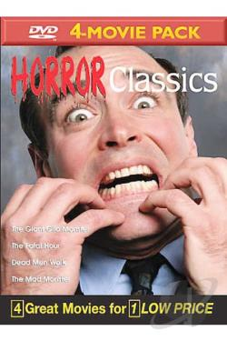 Horror Classics Volume 4 - 4-Movie Pack DVD Cover Art