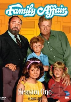 Family Affair - The Complete First Season DVD Cover Art