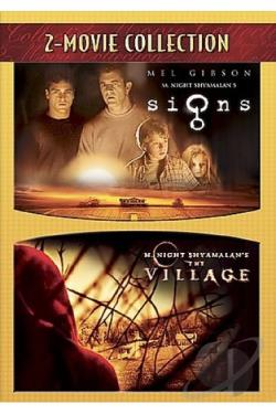 Signs/The Village DVD Cover Art