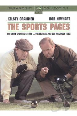 Sports Pages DVD Cover Art