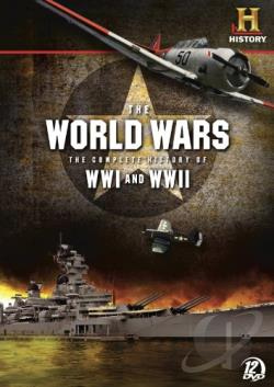 World Wars - The Complete History of WWI and WWII DVD Cover Art