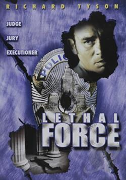 Lethal Force DVD Cover Art