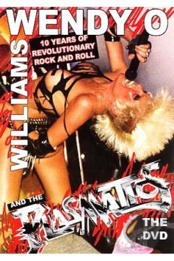 Wendy O Williams and the Plasmatics DVD Cover Art